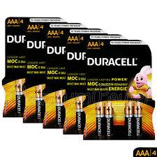 20 x Duracell Duralock AAA batteries CopperTop Alkaline Power 1.5V LR03 MN2400