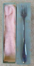 Vintage Long Handle Pickle Olive Fork Silverplate Community Plate 1929