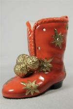 Pipka 'Starcoat Santa Boot'- Gallery Collection #40025 Holds Candy,Pens++ NIB!