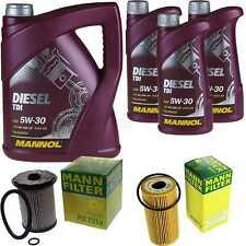 Motor-Öl 8L MANNOL Diesel TDI 5W-30+MANN-FILTER Opel Vivaro Combi J7 2.0 CDTi