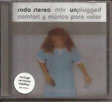 SODA STEREO MTV UNPLUGGED COMFORT Y MUSICA PARA VOLAR BRAND NEW SEALED CD