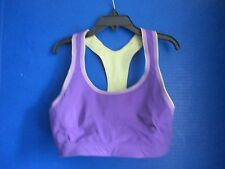 NEW BALANCE~Purple  Racer Back WIRE FREE SPORTS BRA~Women's XS