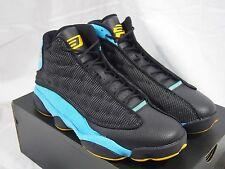 uk availability e65c2 8eade Nike Air Jordan 13 XIII Retro CP PE Size 11 Black SUNSTONE Blue 823902 015
