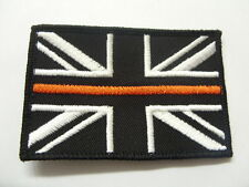 THIN ORANGE LINE  UNION JACK PATCH / BADGE SEARCH & RESCUE  MOUNTAIN  SEW ON