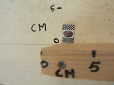 STICKER,DECAL ESSO FINISH FLAG  CAR AUTO  VINTAGE SLOTCAR RACING ? MODEL KIT