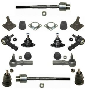 12 New Pc Suspension Kit For Pontac Fiero Buick Opel Ball Joints Tie Rod Ends