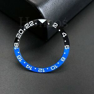 Bezel Insert Ceramic Fits For Rolex GMT II Master 16760  Black Blue Pepsi Batman