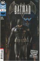 Batman Sins of the Father #1 VF/NM 9.0 DC Comics Batman: Telltale Series