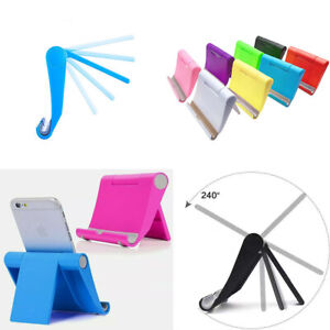 US 2 Pack Universal Cell Phone Stand Holder Foldable Desk Table Mount Adjustable