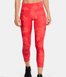 Under Armour - Women's Project Rock Armour Printed Ankle Crop Tights XS NWT