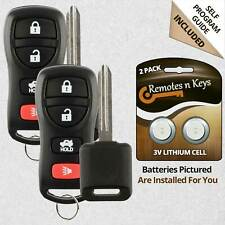 2x Car Transmitter Alarm Remote Control for 2002 2003 2004 Nissan Altima Key