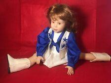 "Vintage Dallas Cowboys Cheerleader Doll NFL 15"" Royal Doll Rare"