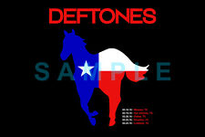 DEFTONES 12x18 BAND POSTER CHINO MORENO WHITE PONY TEXAS TX TOUR CONCERT LIVE 1