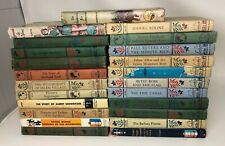 Lot 21 Vintage LANDMARK History Books Great Shape Daniel Boone Wright Brothers