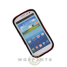 Samsung i9300 Galaxy S3 Hybrid Mesh Case Red/Black Case Cover Shell Protector