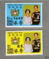 Hong Kong 1975 Royal Visit Stamp