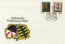 Ersttagsbrief DDR MiNr. 3302, 3305, Tag der Werktätigen des Post- und Fernmeldew