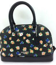 New COACH F57624 mini Sierra Dome Satchel Purse Handbag Shoulder Bag Brown Pink