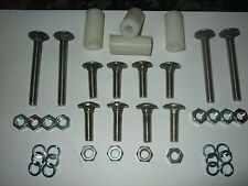 Stainless Bumper Bolt Set for MK 2 Escort With Spacers (4 short 8 Long)