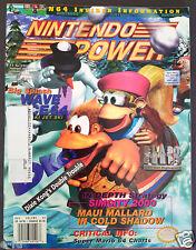 NINTENDO POWER #90 Donkey Kong Country 3 Super Mario 64 Charts Very Good Shape