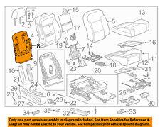 GM OEM Passenger Seat-Seat Back Panel 23365184