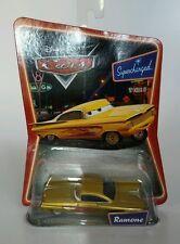 DISNEY PIXAR CARS YELLOW GOLD RAMONE SUPERCHARGED CAR ~ BRAND NEW!  RARE!