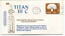 1977 Titan III C Secret Military Payload Satellite Cape Canaveral Complex 40 USA