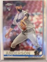 2019 TOPPS CHROME UPDATE - Rookie NICK ANDERSON/Tampa Bay Rays & Miami Marlins