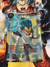 Carte DRAGON BALL SUPER : VEGETA, FRAPPE DEVASTATRICE  - P-001 PR