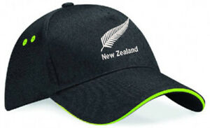 Embroidered New Zealand Image, Baseball Cap, Ideal Gift