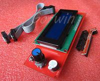 2004 LCD Display 3D Printer Controller With Adapter RAMPS 1.4 Reprap Mendel