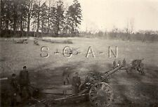 WWII German Large RP- Battery Laid- Artillery Gun- 105mm Howitzer- Cannon- 1941