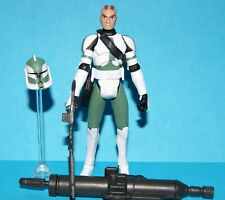 STAR WARS CLONE WARS COMMANDER GREE CW09 LOOSE COMPLETE