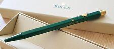 Rolex green Ballpoint pen with Original box Caran D'ache