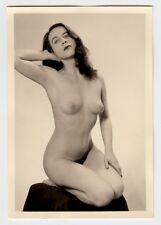 #617 RÖSSLER AKTFOTO / NUDE WOMAN STUDY * Vintage 1950s Studio Photo - no PC !
