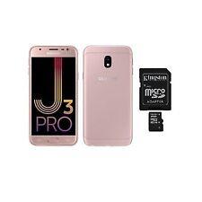 SAMSUNG Galaxy J3 Pro J330G Dual SIM Pink Unlocked Phone