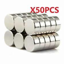 50pcs 10X3 mm Neodymium Disc Super Strong Rare Earth N50 Small Fridge Magnets ^