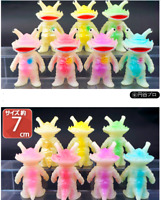 Bullmark Mini Kanegon Kaiju Soft Vinyl Sofubi Figure 7 SET Phosphorescent 2020