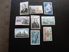 FRANCE - 9 timbres n** (1964/1965) (C5) french
