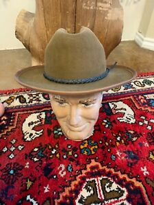 COOL! Will Leather Goods Open Road Style Hat Size 7 1/4