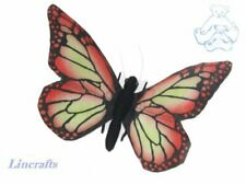 Hansa Red Butterfly 7103 Soft Toy Insect Sold by Lincrafts Established 1993