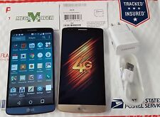 LG G3 LS990 Boost Mobile Smartphone 4G Gray/Blue/Gold in Box Clean MEID free sim