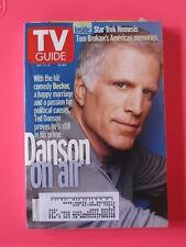 TED DANSON Decker TV GUIDE march 7 - 13,  2002