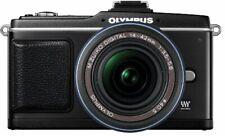 Olympus Micro Four Thirds Pen E-P2 Lens Kit Black E-P2Lkit-Blk