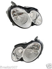 No Xenon! 2 Oem Hella Left+Right Headlights Headlamps Lights Lamps for Mercedes