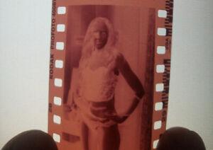 35mm Negative Pinup Female Risque Glamour Film Artistic Amateur (1 shot)