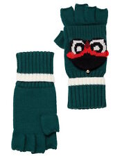 Kate Spade New York Gloves Who Me Pop Top Knit Mittens NEW