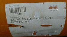 "WLDMT 74"" W Hex Shaft # 107785 roller flail mower part Alamo Rhino"