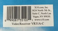 NEW X10 VR31A-C Video Receiver with Audio