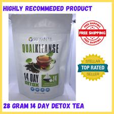 Qual Kiss 28g QUALKLEANSE 14 Day Detox Slimming Tea Fast Slim Detox Lose Weight